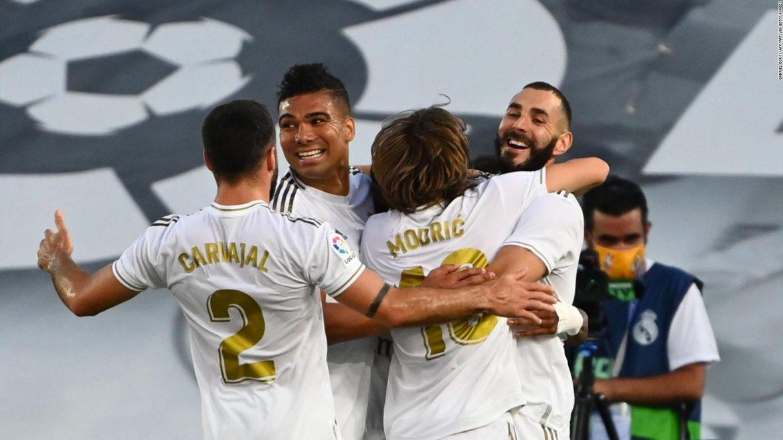 Real Madrid exenta cuarentena en el Reino Unido para jugar ante Manchester City